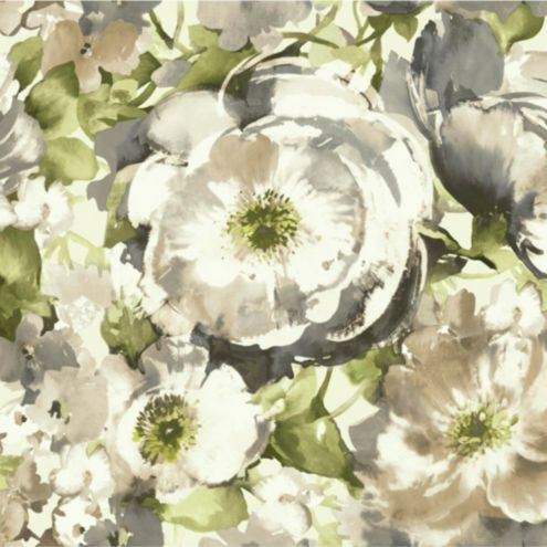 Floral Watercolor Wallpaper Double Roll