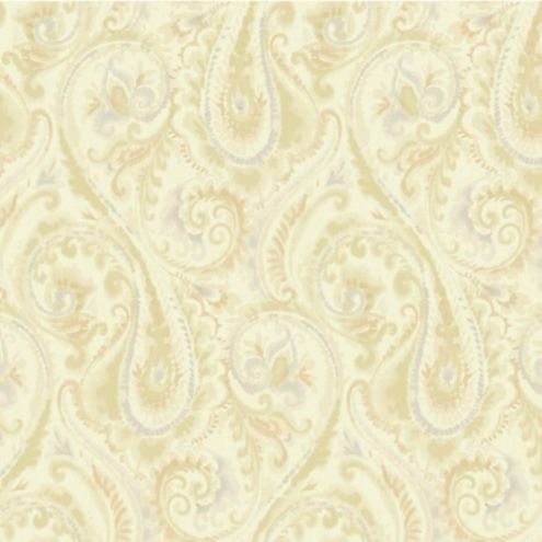 Washed Paisley Wallpaper Double Roll