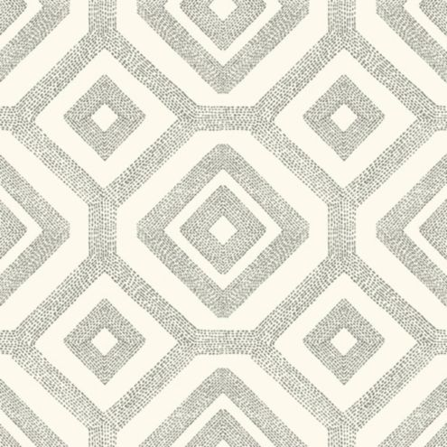 Navarre Wallpaper Double Roll Aqua/Taupe