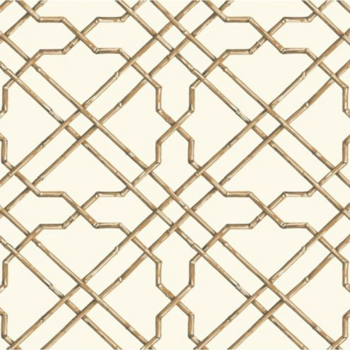 Bamboo Trellis Wallpaper Double Roll