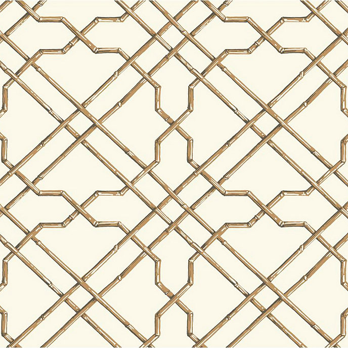 Bamboo Trellis Wallpaper Swatch