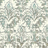 Watercolor Damask Wallpaper
