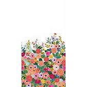 Floral Pop Mural Wallpaper
