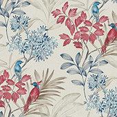 Este Floral Wallpaper