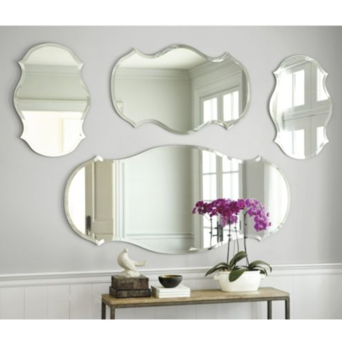 Audrey Mirror - Audrey Frameless Mirror - Wide