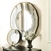 Bellesol Mirror - Antique Gold Small