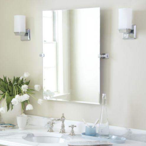 hayden tilting bath mirror ballard designs
