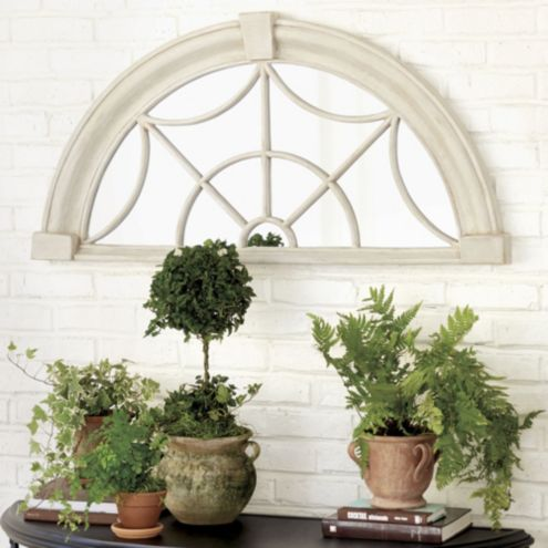 Bunny Williams Transom Indoor/Outdoor Mirror