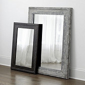 Beaded Zinc Mirror