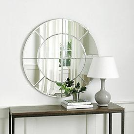 Grand Palais Round Mirror Ballard Designs