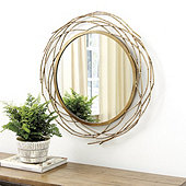 Suzanne Kasler Willow Branch Mirror