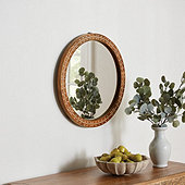 Banyan Bone Inlay Mirror