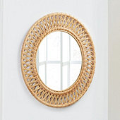 Bunny Williams Woven Mirror
