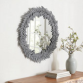 Leaf Petals Mirror