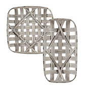 Tobacco Basket Wall Décor - Limited Sizes