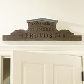 Wooden Pruvost Plaque - Small