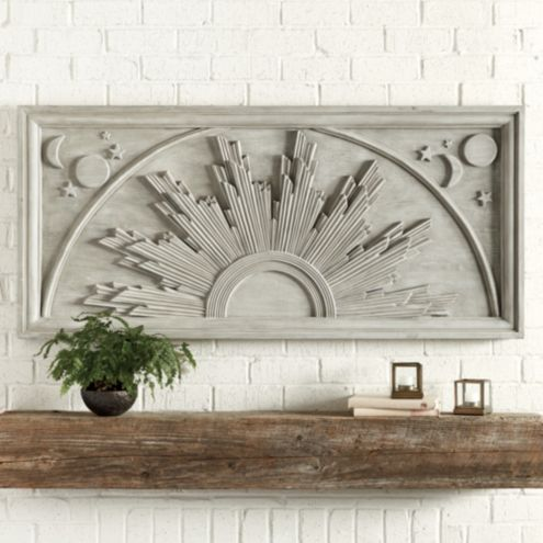 Bunny Williams Sunburst Outdoor Plaque