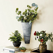 French Flower Wall Pot