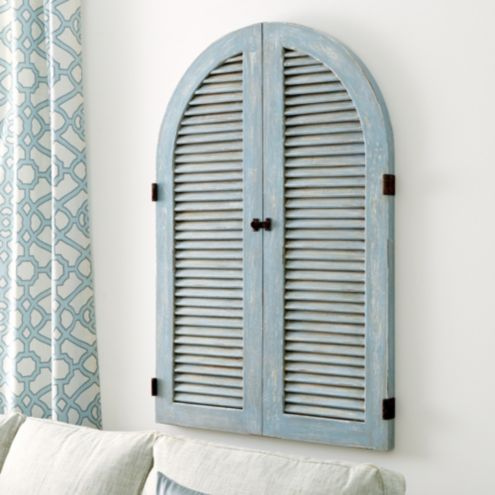 French Shutter Wall Décor