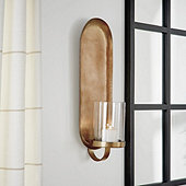 Oval Pillar Sconce