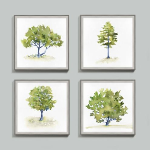 Spring Tree Framed Print