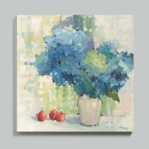 French Blue Stretched Canvas 24