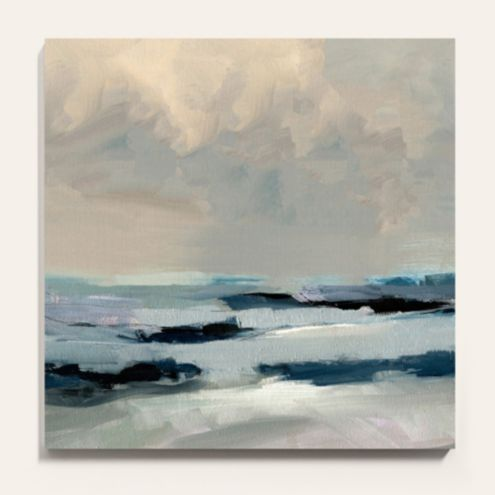 Calm Before the Storm Stretched Canvas Art