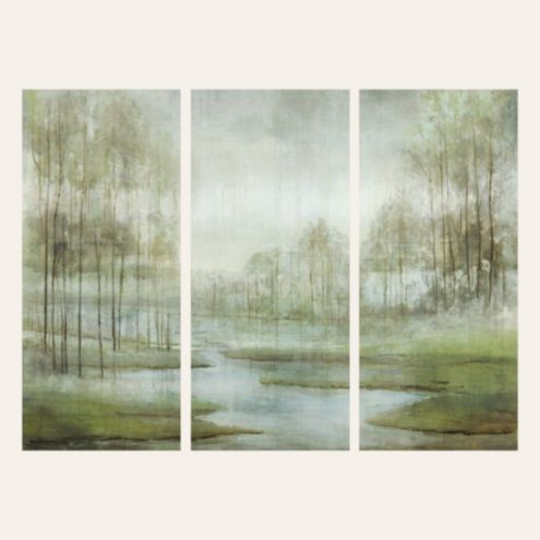 Peaceful River Art Canvas