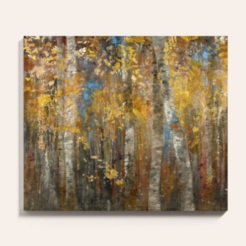 Autumn Glow Stretched Canvas