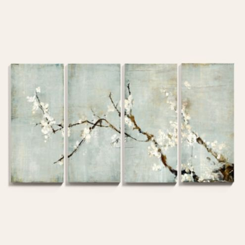 Sakura Blossoms Art Giclees - Set of 4