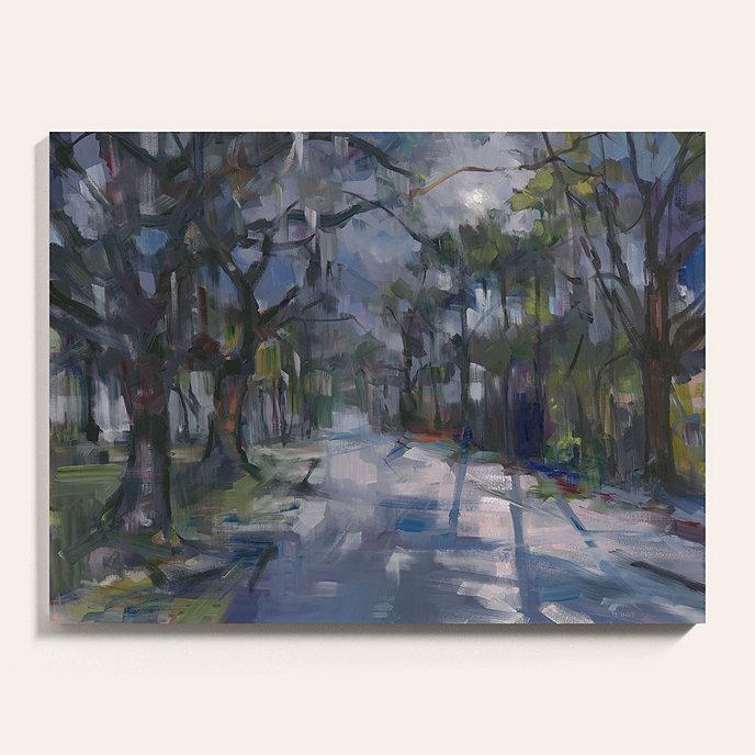 moonlit oaks stretch canvas art ballard designs