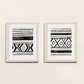 Petite Tribal Pattern Art