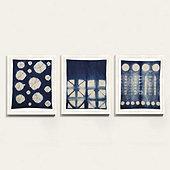 Shibori Fabric Art