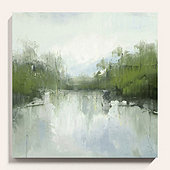 Still Waters Canvas Art Print