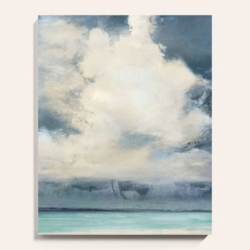Coastal Views Stretched Canvas Art Print