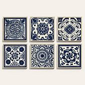 Tile Patterns Art
