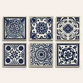 Tile Patterns Art
