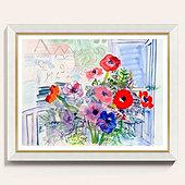 Fleurs De Paris Framed Print