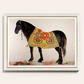 Suzani Horse Art