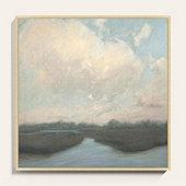 Pastel Marsh Art