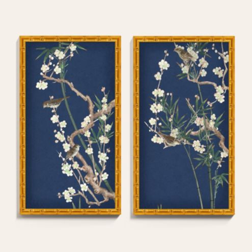 Blooming Branches I Framed Art Print