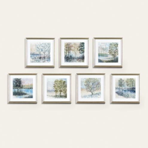 Spring in Watercolor Petite Art Framed Print