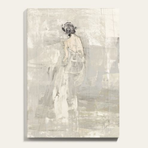 Figurative Abstract Painting Canvas Print