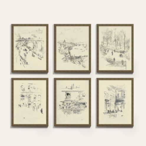 City Scenes Art Prints Series