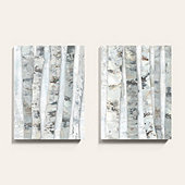 White Birch Woods Art