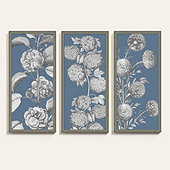 Floral Garden Panel Art