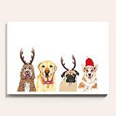 Holiday Pups Art