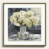 Chrysanthemum Blooms Art