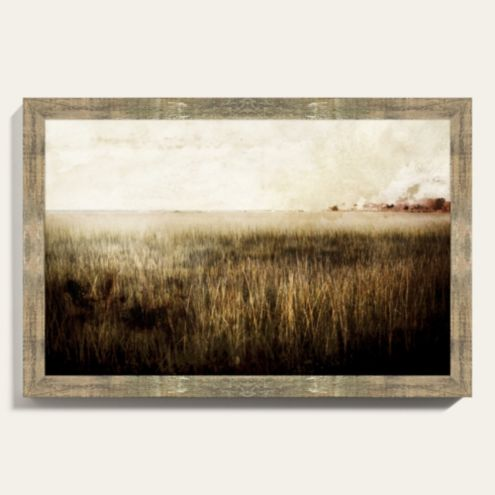 Fields of Gold Landscape Photo Framed Art Print