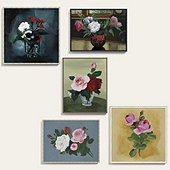 Anette Painted Florals Art